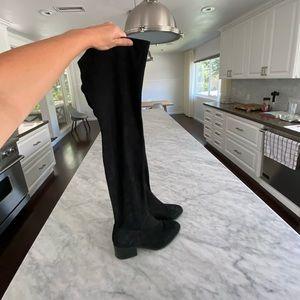 STEVE MADDEN - Over Knee Suede Boots